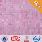 LJO JY-SG-01 High Quality Foshan Bedroom Wall Stained Glass Pink Floor Tile Tiffany Glass Mosaic Pink Tile