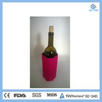pvc wine bottle gel cooler bags