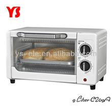 800w 9l electric mini oven for bread
