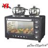 Mini kitchen oven with stove (30L)
