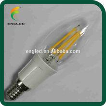 COB led bulb light manufacturing , cob filament led bulb, led candle lamp e14 dimmable
