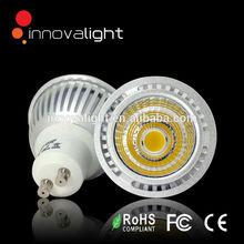 Innovalight LED GU10, LED GU10 dimmable, 5W COB LED GU10 spotlight