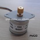 20mm China Manufacturing mini motor stepper motor