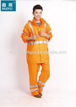 OEM factory full length rain emergency rain coat waterproof skiing coat breathable men long waterproof coat