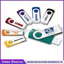 hot selling popular swivel usb flash drive, hot cheap usb 2.0 usb flash drive with your logo printing