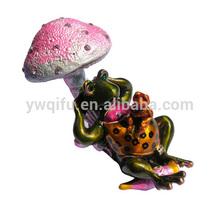 2155 Fashion trinket box wholesale frog/frog plush toy/frog shape jewelry box