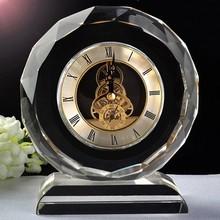 Elegant K9 Home Decorative Table Crystal Clock