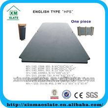 new design top grade 1pcs black 9ft billiard slate TQSB-7F19