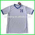 2014 copa del mundo de honduras de fútbol en casa t- shirt para adultos con alta calidad y el más nuevo diseño