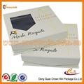 personalizado de lujo empate de cartón caja del paquete