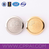 Gold and various size new design custom sewing buttons bulks