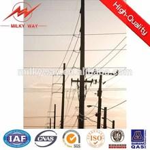 110kv&220kv tapered or octongal steel hot dip galvanization electric pole making machine power distribution