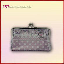 Floral Cotton Fabric Ladies Coin Wallet