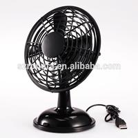 "Wholesale Two Speed Battery Operated Plastic Oscillating Fan 5"" Mini USB Powered Fan"