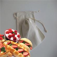 popular cotton shopping bag/paper bags cotton handle/long handle natural cotton shopping bag
