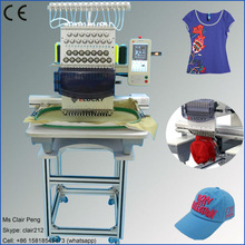 15 colors single head used embroidery machine for sale