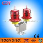 Dual medium intensity red led airport beacon light, double aircraft warning lighting