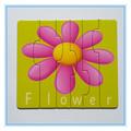 2014 personalizado novo educacional alfabeto carta/palavras jigsaw puzzle jogos