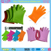 2014 Amazon Hot Sell Five Fingers FDA Silicone Gloves For BBQ