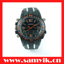 7002# Bistec HOT high quality sport style wholesale dual time watch