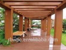 outdoor WPC pergola/recycle wpc pergola/pavilion