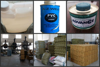 Cheap clear PVC glue Adhesive (plastic glue) for pipe fittings