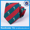 Cheap Polyester Logo Tie, Custom Embroidered Tie