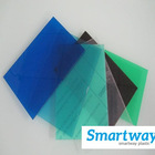 100% virgin materials blue polycarbonate for roof
