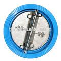 Di/ci pn10/pn16 plástico de água da válvula de retenção de boa qualidade