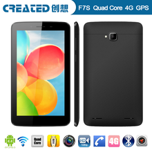 7 inch support Android 4.4.2 OS with 4G/WIFI/Bluetooth/NFC function LTE 4g quad core tablet, 4G 7 inch LTE tablet android 4.4.2