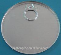 round can top tank cap metal lid