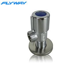 upc copper plated round brass water valve