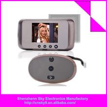 Door Viewer Night Vision Smart Video Doorbell Cat Eye, Digital Peephole Door Viewer, Wireless Door Viewer with Hidden Camera