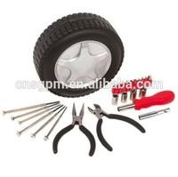 24Pcs Car Repair Kit Car Emergency Kit Set Auto Supplies Household Tool Sets