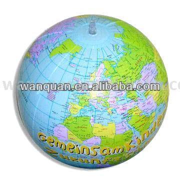 la impresión general de globo inflable