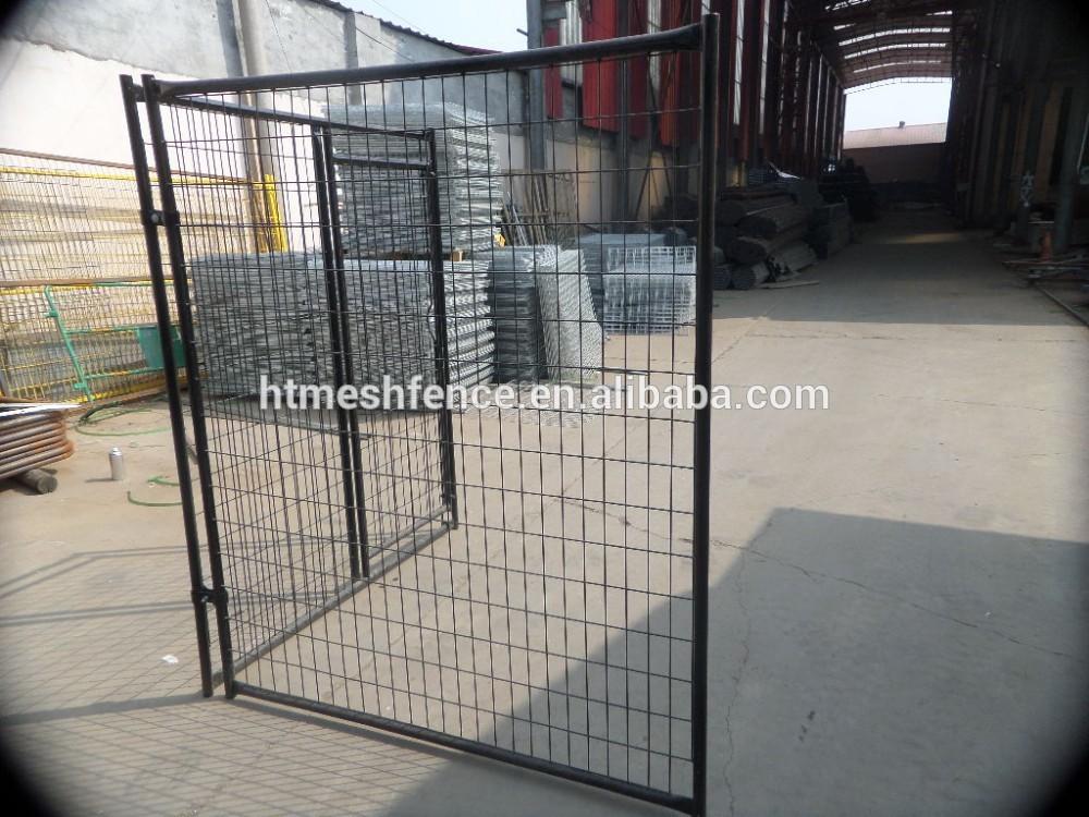 Great quality chain link probreeder metal dog kennel/metal large dog kennels ANTI-CLIMB BAR SYSTEM DOG RUN PEN CAGE