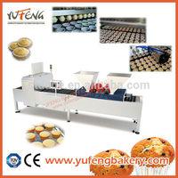 Automatic cupcake maker, dough filling machine and cup filling 2 in 1 machine