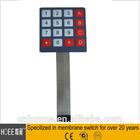 16 key membrane switch keypad