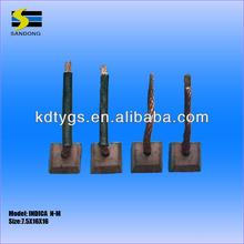 INDICA (single wire) 12v starter motor carbon brush ,china carbon brushes