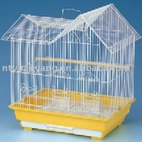 outdoor indoor wire bird cage with plastic tray