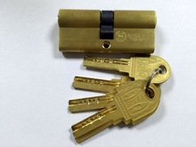 high quality security brass door lock cylinder