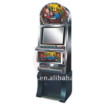 Garage Game Machine Coin Operated Lucky Bonus Casino Single Screen Game Machine