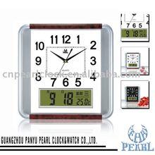 Digital LCD Wall Clock PW105