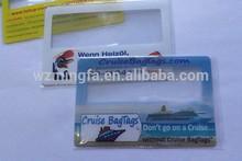 magnifying glass, fresnel lens,business card