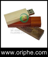 promotion Wooden USB Flash Drive according to your logo