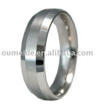 oem/odm metal factory fashion Titanium ring