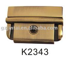 special classic style briefcase key lock bag lock flip lock