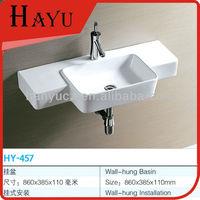 HY-457 wall hung cabinet bathroom ceramic chaozhou sanitaryware