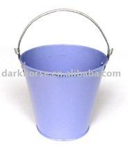 Round Garden Zinc Planter