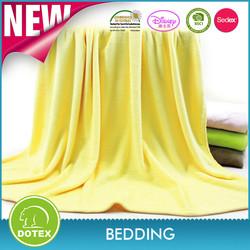 BSCI SEDEX Disney Audited manufacturer super soft warm coral fleece blanket polyester
